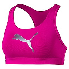 Puma - Women's Bright pink Pwrshape Forever bra