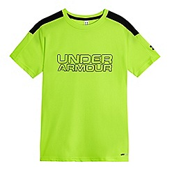 Under Armour - Boys' bright green t-shirt