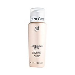 Lancôme - 'Nutrix Royal' body lotion 400ml