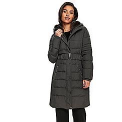 Wallis - Grey ella padded coat