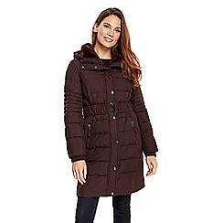 Wallis - Berry ella padded coat