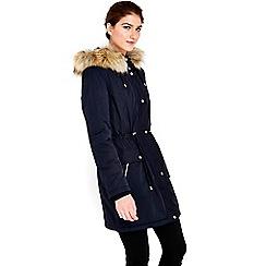 Wallis - Navy parka jacket