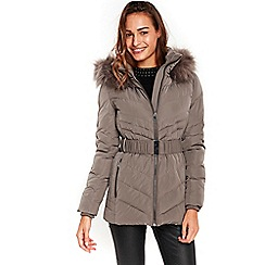 Wallis - Mink short padded coat