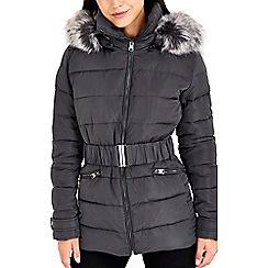 Wallis - Grey padded short jacket