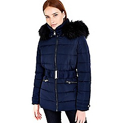 Wallis - Navy padded short jacket