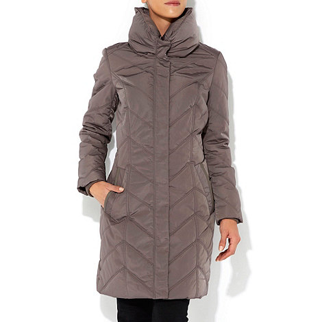 Wallis - Grey padded coat