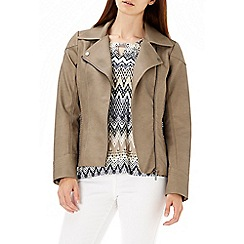 Wallis - Stone biker jacket
