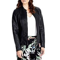 Wallis - Black gothic biker jacket