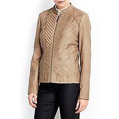 Wallis - Stone gothic biker jacket