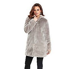 Wallis - Mink fur midi coat