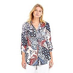Wallis - Petite spring paisley shirt