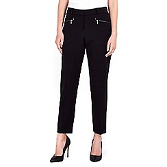 Wallis - Petite smart black trouser