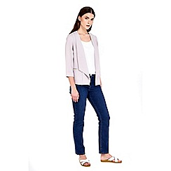 Wallis - Petite grey short jacket
