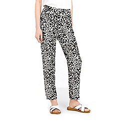 Wallis - Petite animal jogger trouser