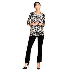 Wallis - Petite black bootcut jean