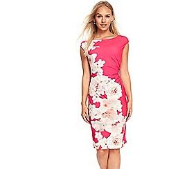 Wallis - Petite pink monochrome floral dress