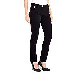 Wallis - Petite black smart trouser