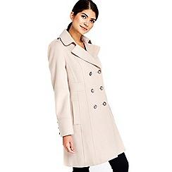 Wallis - Petite stone military coat