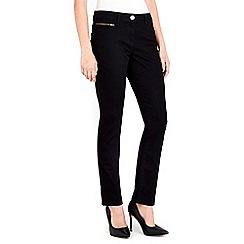 Wallis - Petite black harper jeans