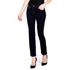 Wallis - Navy harper petite jeans