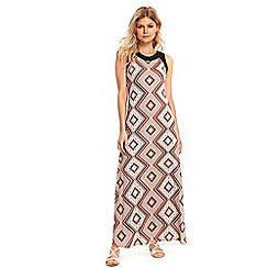 Wallis - Petite mosaic maxi dress