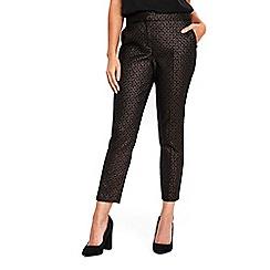 Wallis - Petite metallic trousers