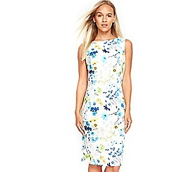 Wallis - Petite blue floral dress