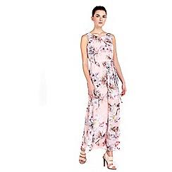Wallis - Petite blush floral maxi dress