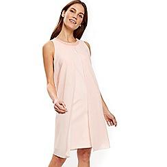 Wallis - Blush embellished petite dress