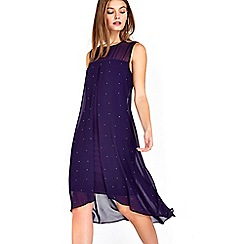 Wallis - Petite berry split dress