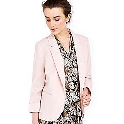 Wallis - Petite pale pink short jacket