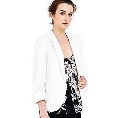 Wallis - Petite ivory short jacket
