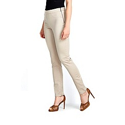 Wallis - Petite neutral side zip