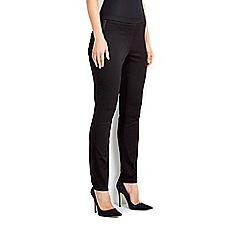Wallis - Petite black pull on trouser