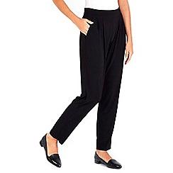 Wallis - Petite black tapered trouser