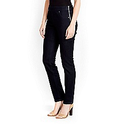 Wallis - Petite side zip denim jeans