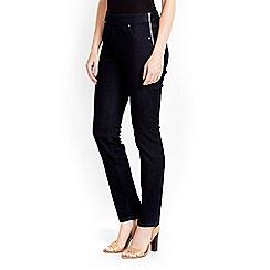 Wallis - Petite side zip denim jeans