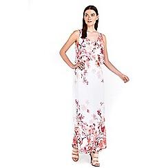 Wallis - Petite floral maxi dress