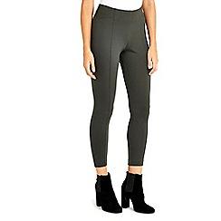 Wallis - Petite khaki legging