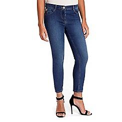 Wallis - Petite midwash imogen jeans