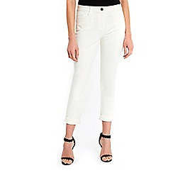 Wallis - Petite stone roll up jeans