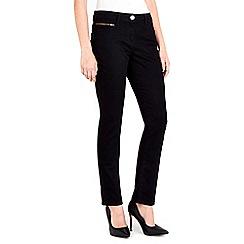 Wallis - Petite black harper jean