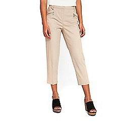 Wallis - Petite stone cropped trousers