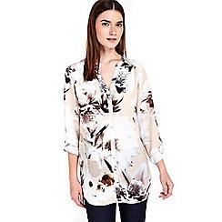 Wallis - Petite floral printed shirt
