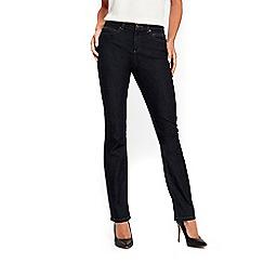 Wallis - Petite harper indigo straight jean