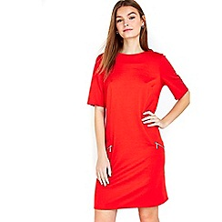 Wallis - Petite orange shift dress