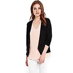 Wallis - Petite black short jacket