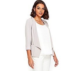 Wallis - Petite grey short jacket