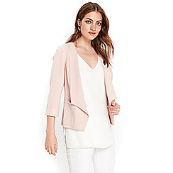 Wallis - Petite blush short jacket