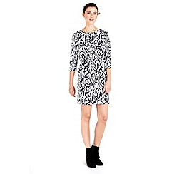 Wallis - Petite stone animal print dress